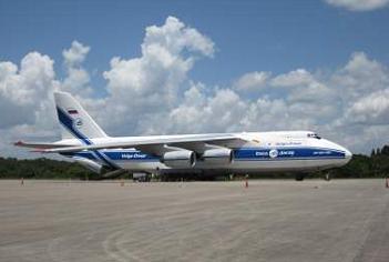 Russian Antonov 124 this week, via L2