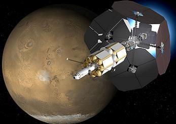 VASIMR Mars Vehicle