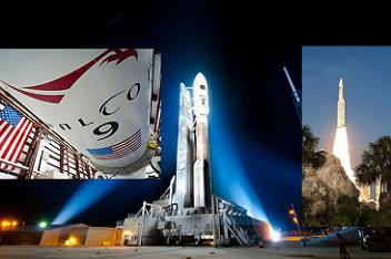 Falcon 9, Atlas V and Ariane 5