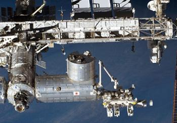 Kibo on the ISS