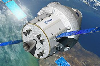 ATV SM on Orion
