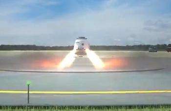 Dragon propulsive landing