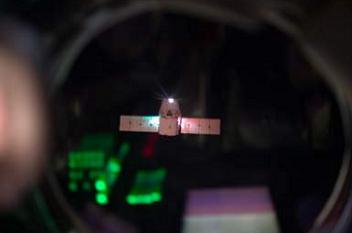 Dragon arriving at the ISS, via L2