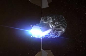Capturing an asteroid