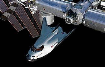Dream Chaser docking