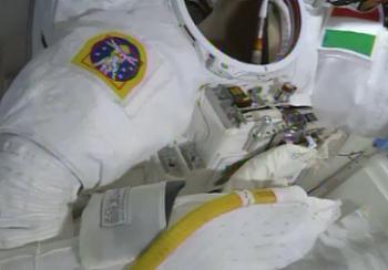 Luca's suit being investigated post EVA