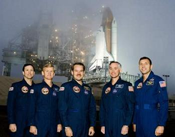 USA-53 with Shuttle Crew