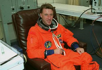 Foale ahead of STS-103