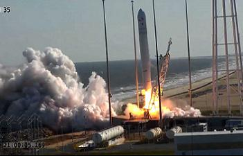 Antares Launch video L2 engineering video