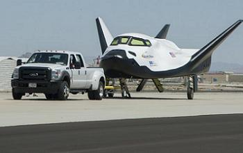 Dream Chaser ETA during testing at Dryden