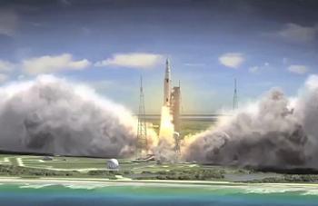 SLS Launching