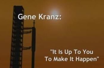 Opening title to Gene Kranz address