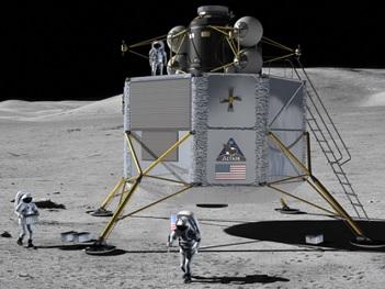 Golden Spike recruit Draper to evaluate lunar landing ...