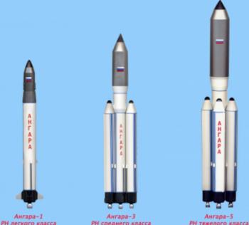 Angara rocket