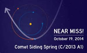 Siding Spring - near miss