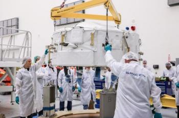 Lancement Falcon 9 / CRS-9 le 18 juillet 2016 CCAFS 2016-07-15-214437-350x232