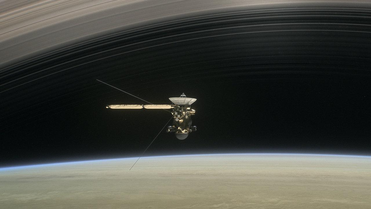 Cassini data sheds light on Saturn formation and Enceladus habitability