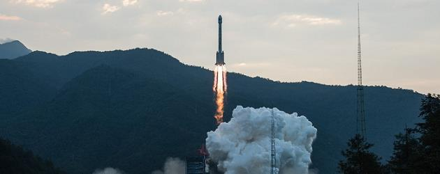 Long March 3B lofts ChinaSat 9A - third stage issue reported