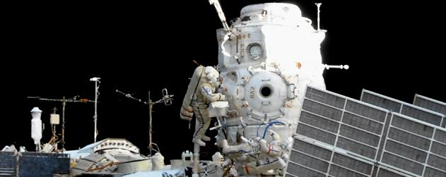 Extended Russian EVA complete – conducts satellite ...
