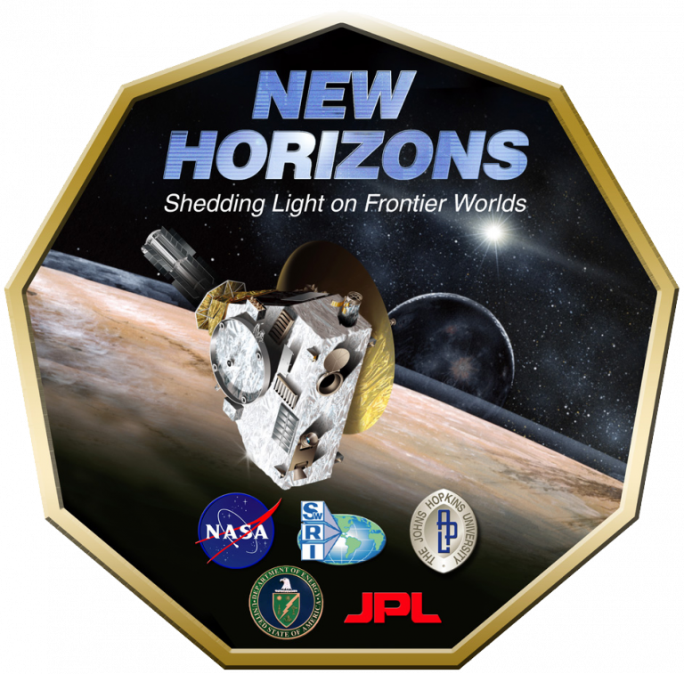 New Horizons badge (NASA)