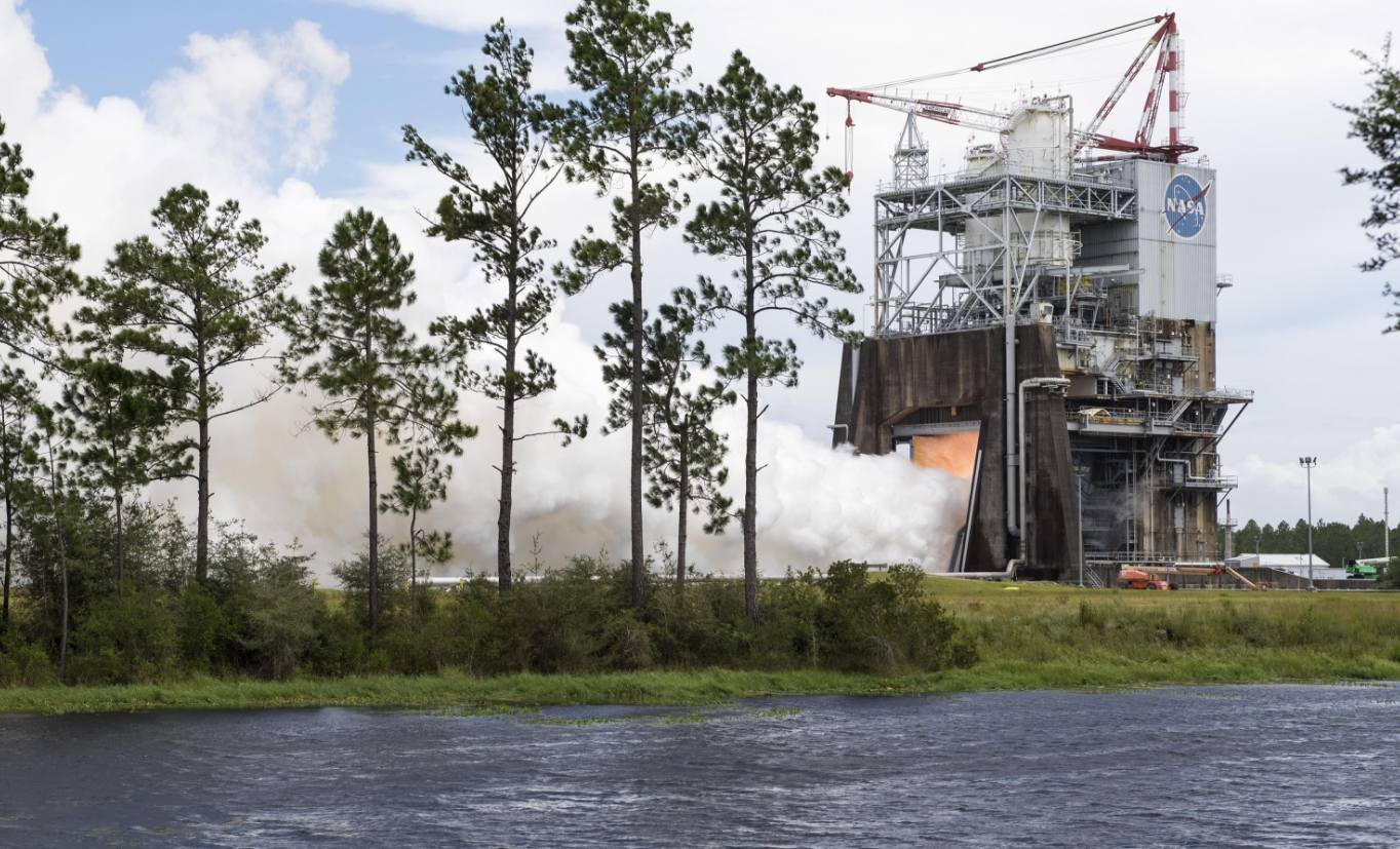 RS-25 hot fires with 3D printed Pogo - Facility issue cuts