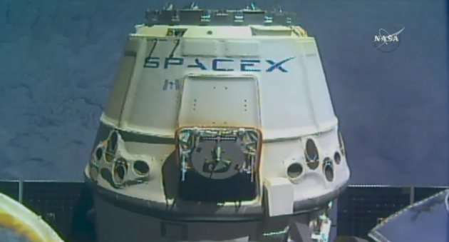 CRS-13 Dragon is released