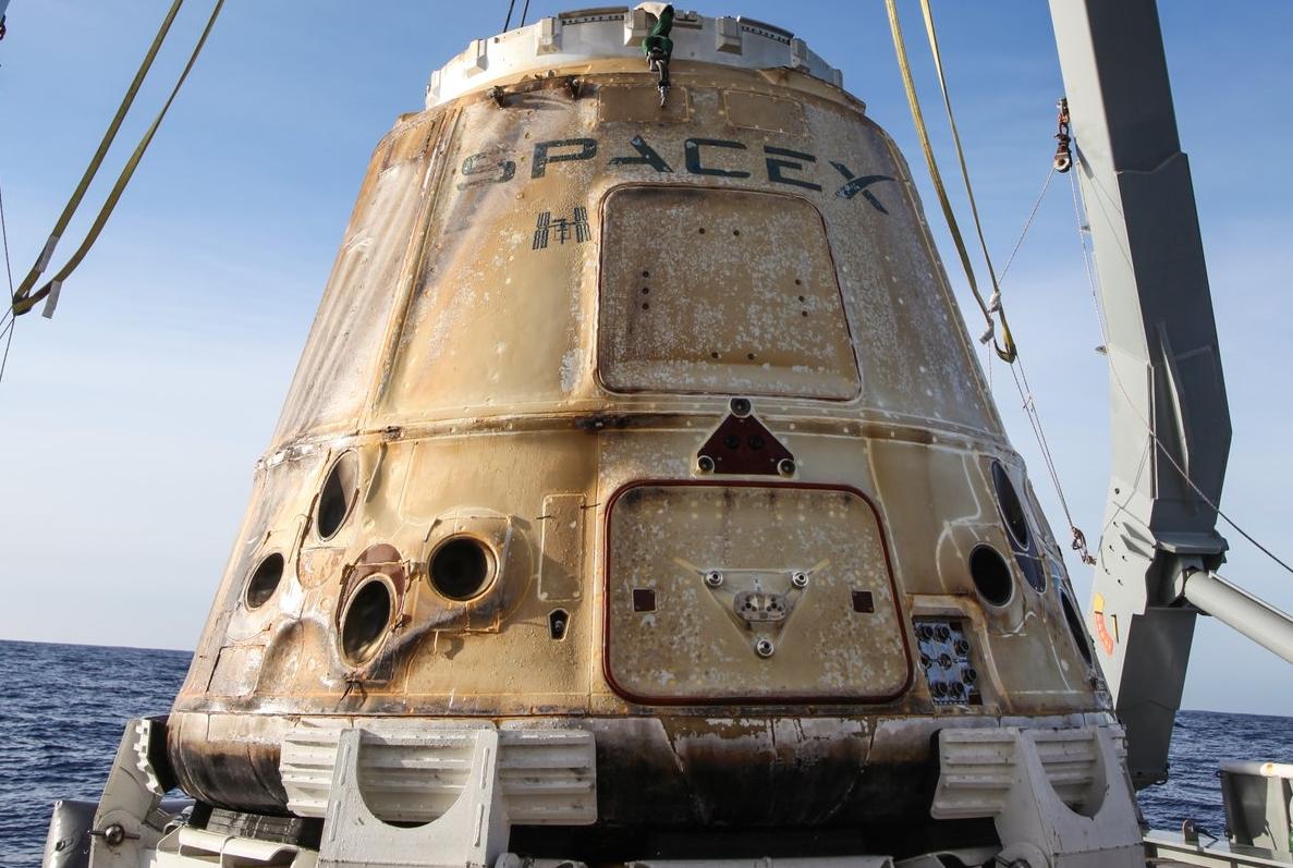 Dragon C 108 returns home after mission CRS-13
