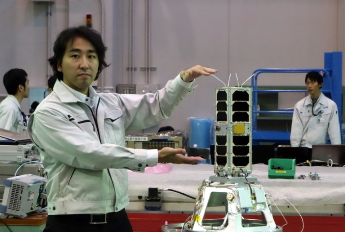 Japan launches mini-rocket with microsatellite