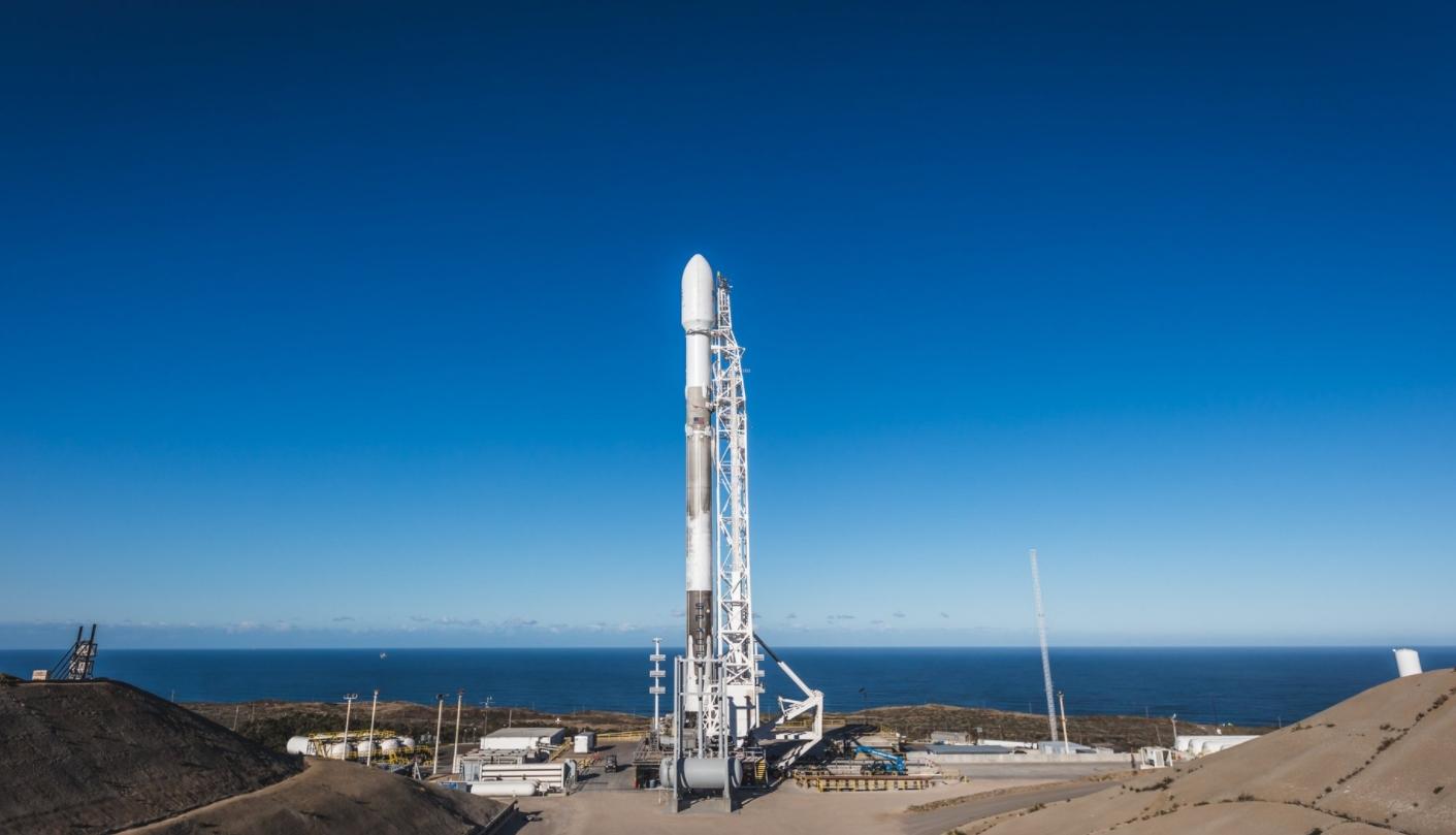 Falcon 9 Rocket Launch Video