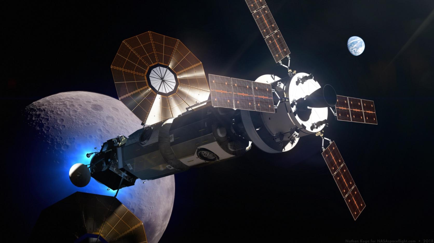 cislunar space station -#main