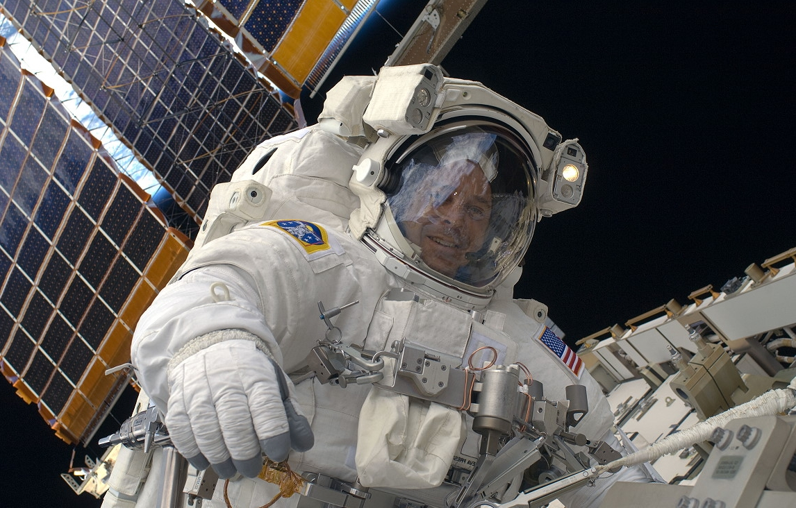 NASA astronauts embark on 6-hour spacewalk