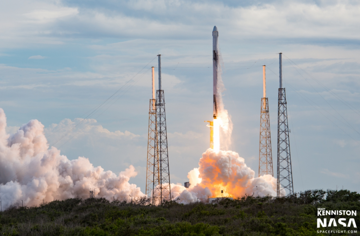 CRS-14: SpaceX Falcon 9 conducts second flight with ...
