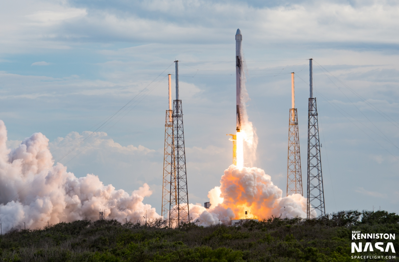 CRS-14: SpaceX Falcon 9 conducts second flight with