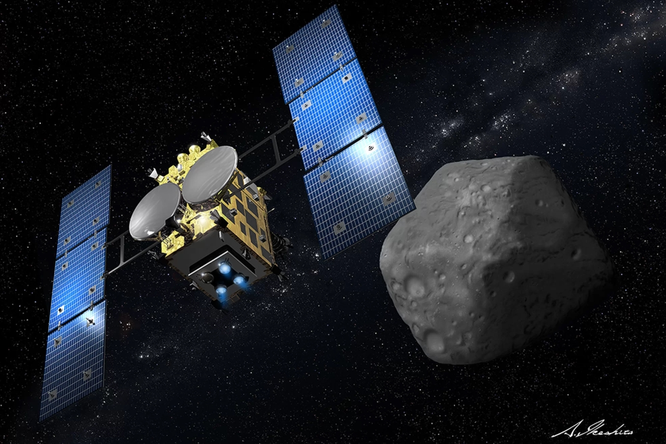Hayabusa2 continues to achieve milestones at Asteroid Ryugu