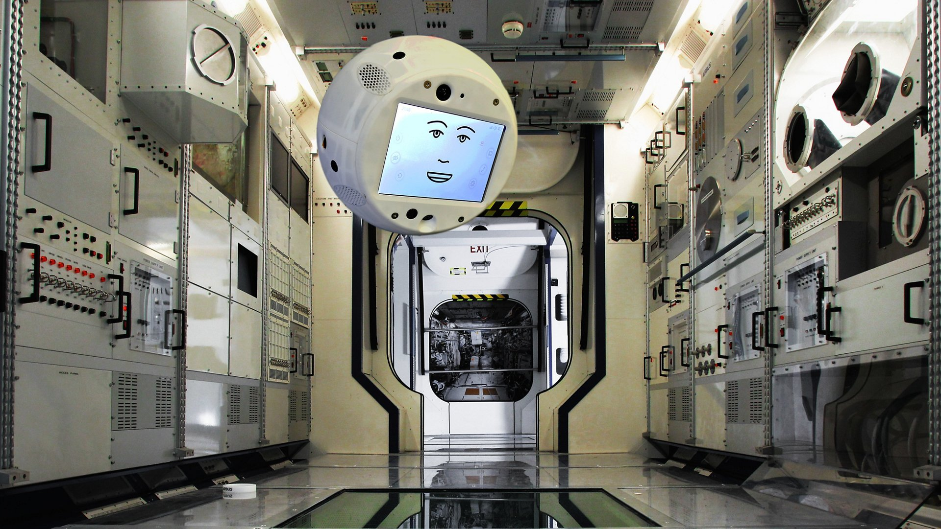 CIMON - the first AI crew assistant for spaceflight crews (Airbus/NASA)