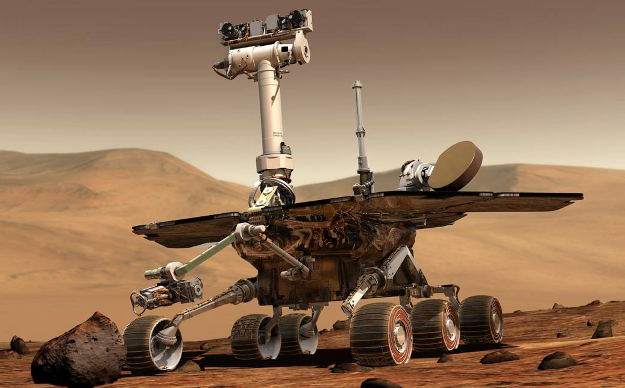 Huge Dust Storm on Mars Sidelines NASA's Opportunity Rover