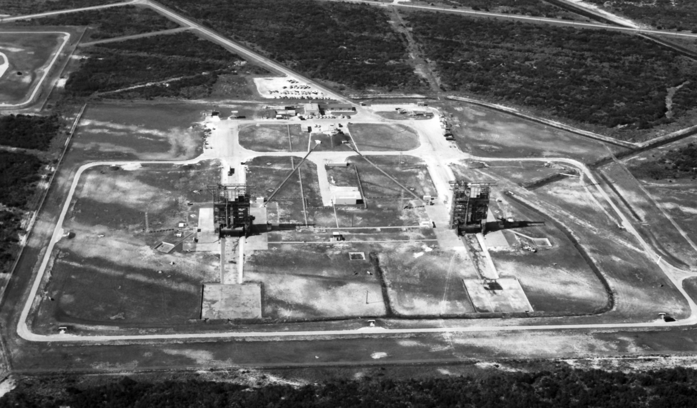 Cape Canaveral rocket towers brought down to earth