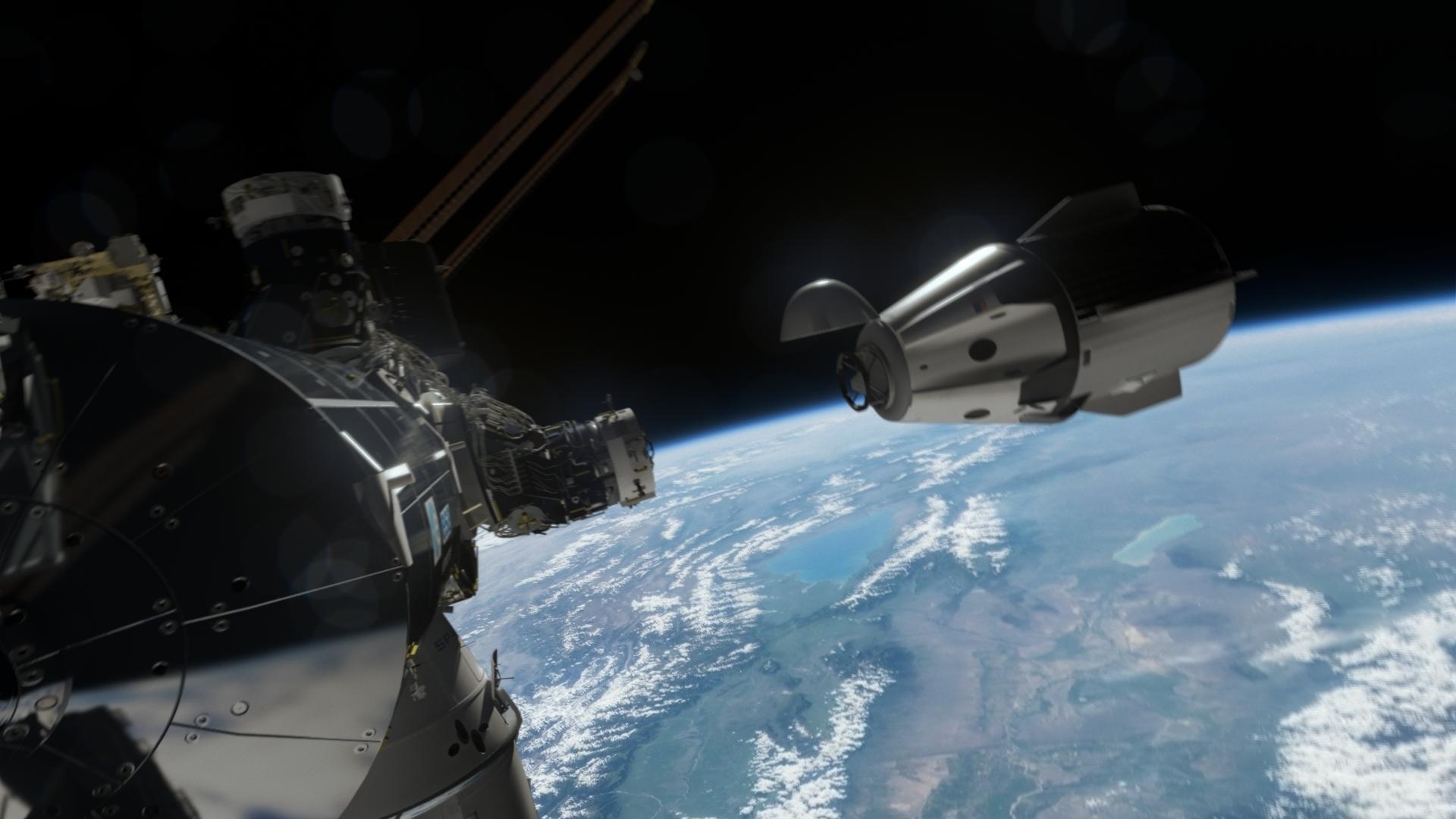 spacecraft crew - photo #27