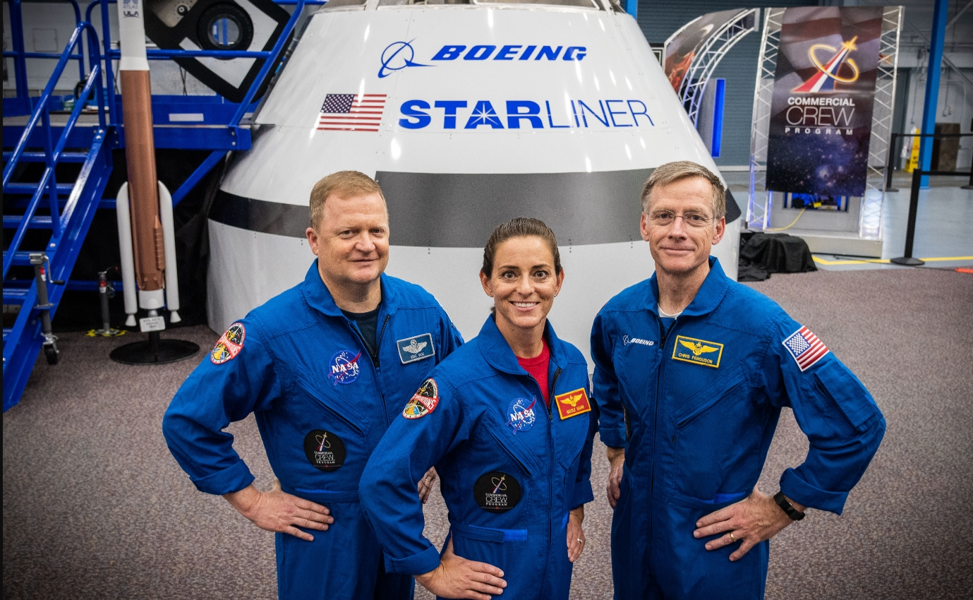 Nasa replaces astronaut for 1st Boeing mission to ISS