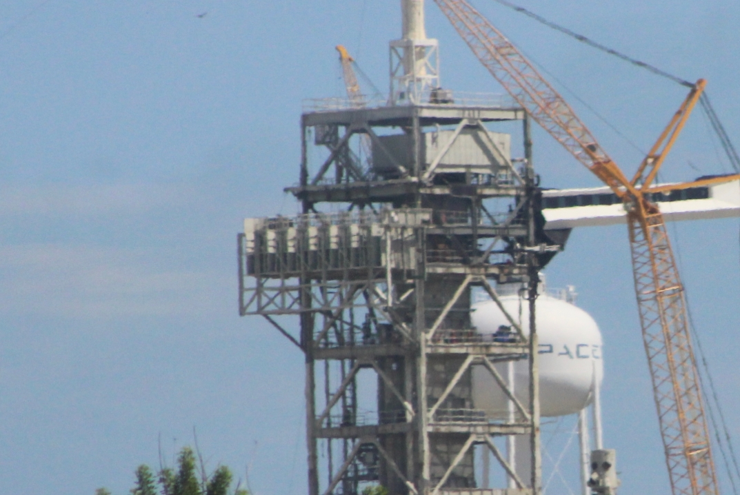 SpaceX finalizing Pad 39A upgrades for return to crew ...