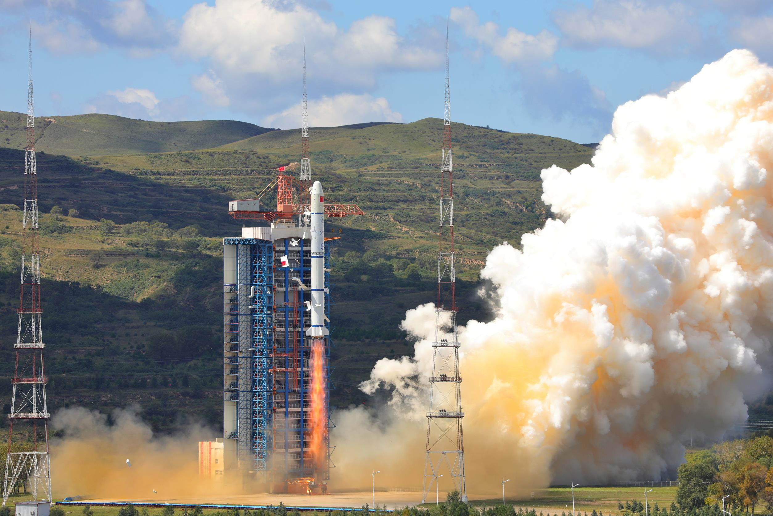 ... the Haiyang-1 series on Friday, with the launch taking place from the  Taiyuan Satellite Launching Center at 03:15 UTC. A Long March-2C (Chang  Zheng-2C) ...