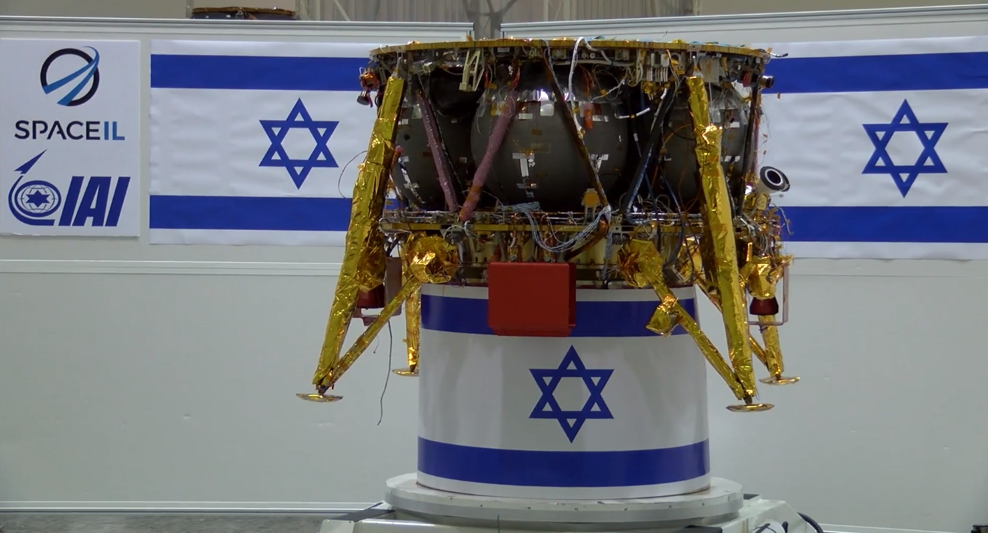 Israel's first mission to the moon – to launch on a Falcon 9 – delayed a few weeks