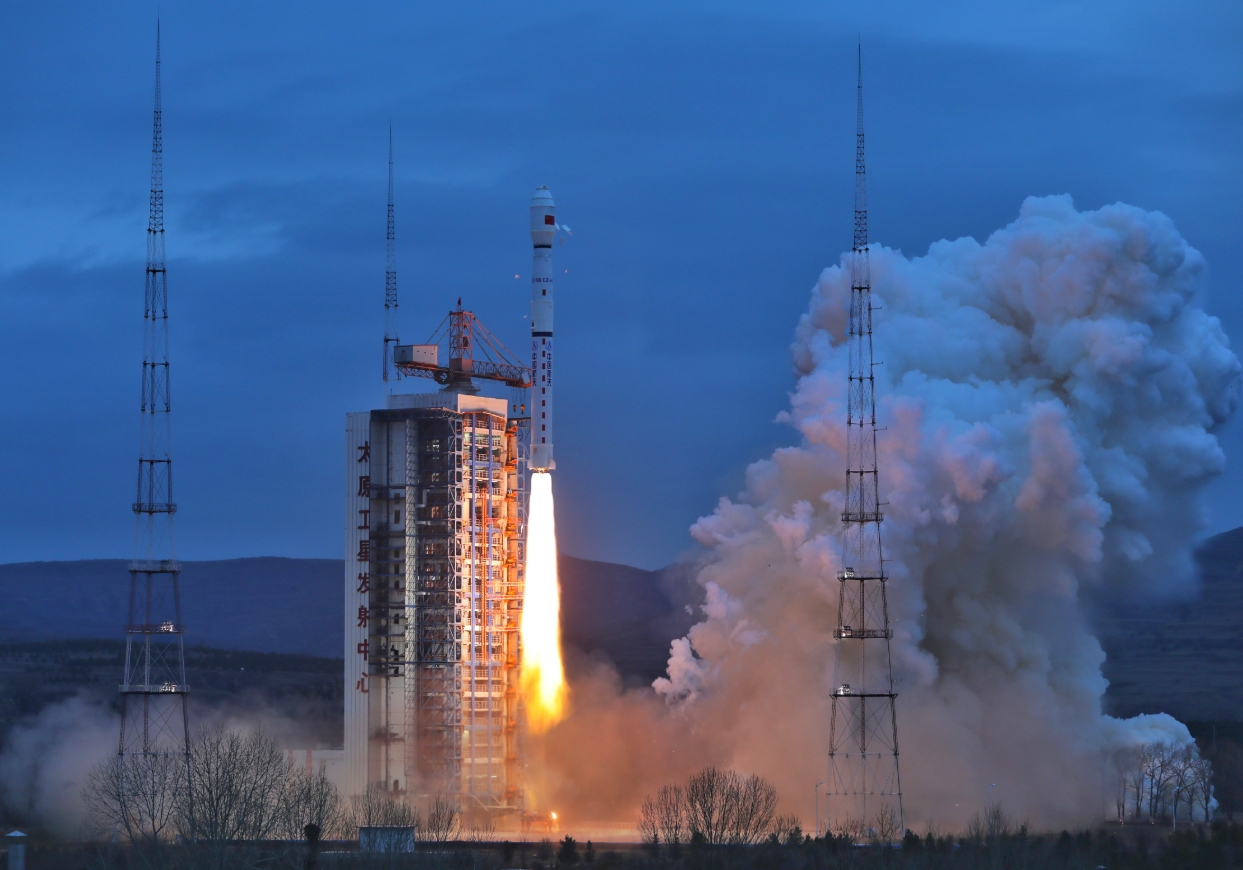 China launched a new satellite for ocean observation from the Taiyuan  Satellite Launch Center on Wednesday. Launch of the Haiyang-2B took place  at 22:57 UTC ...