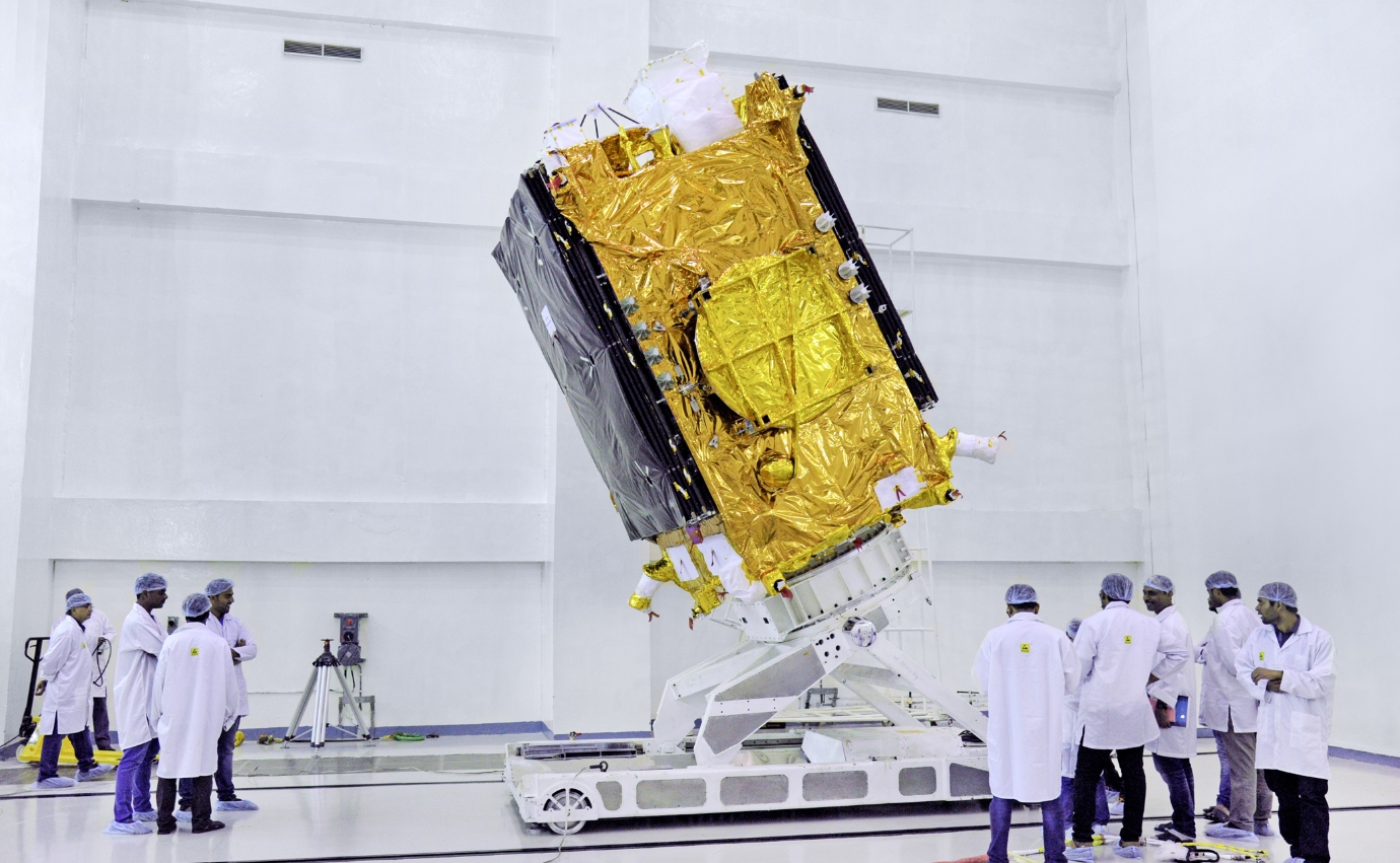 Indian GSLV rocket set for GSAT-29 launch