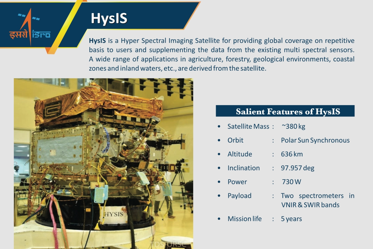 PSLV conducts HySIS launch with numerous co-passengers
