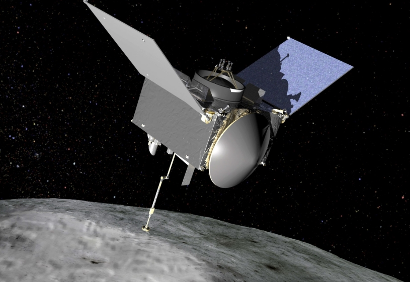 Risky  asteroid landed a research probe