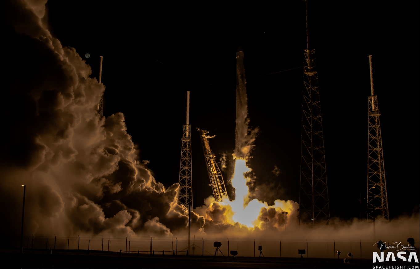crs 15 launches from slc 40 by nathan barker for nsfl2