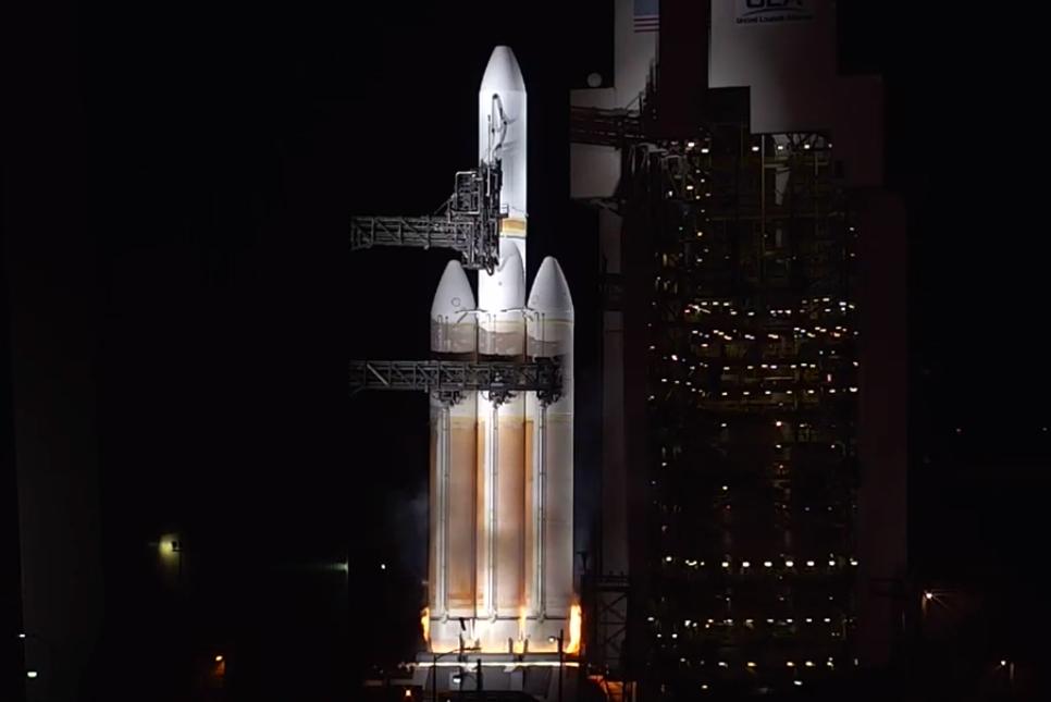 Ula Delta Iv Heavy Scrubs Again Ahead Of Nrol 71 Launch