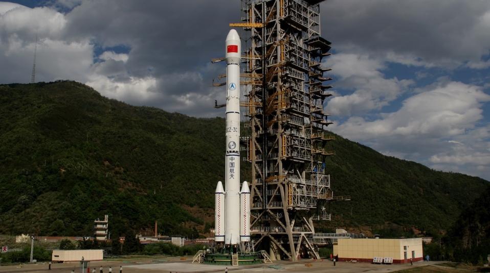 Long March 3C lofts secretive TJSW spacecraft