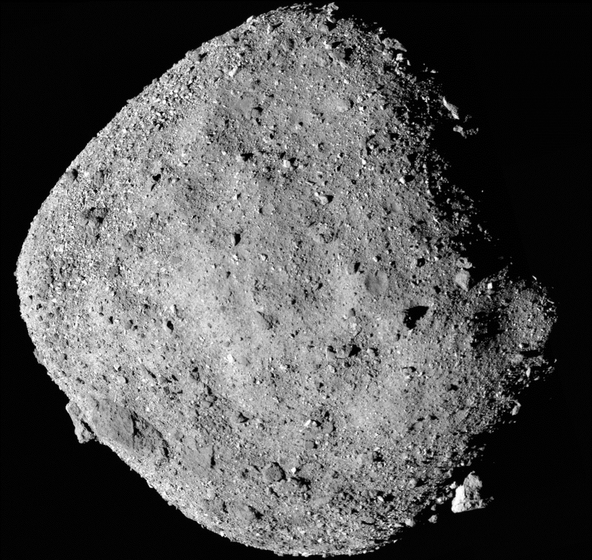Water found on asteroid by OSIRIS-REx explorer